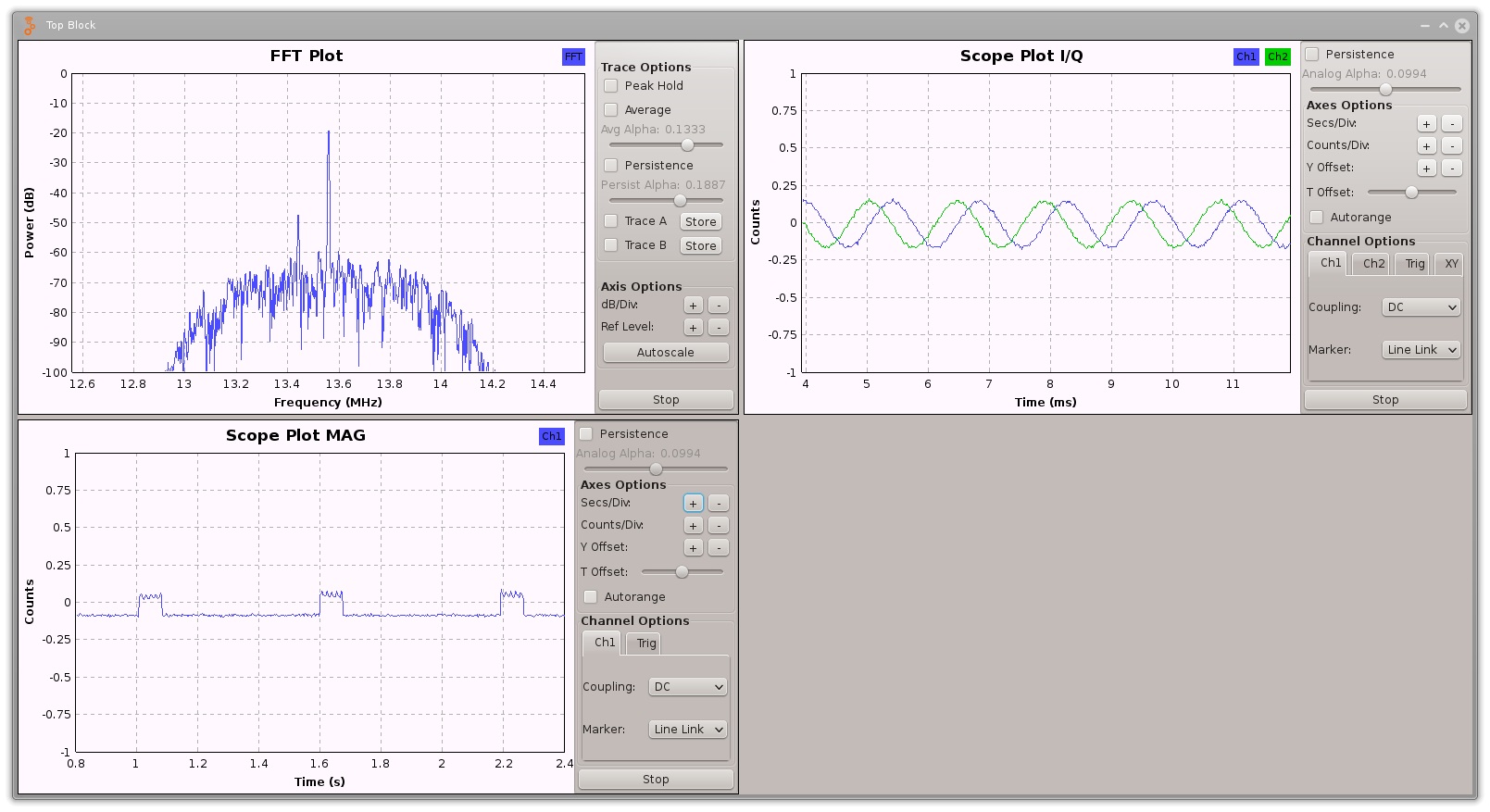 Sniffing and decoding NFC with a DVB-T stick (RTL-SDR) and GNURadio
